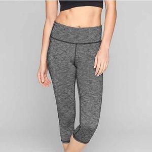 Athleta | Space Dye Chaturanga Capri Leggings XL